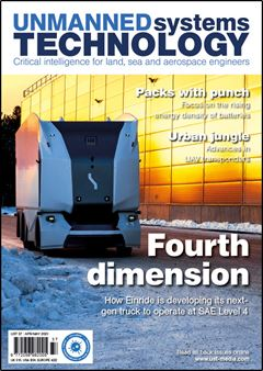 Unmanned Systems Technology - Issue 037