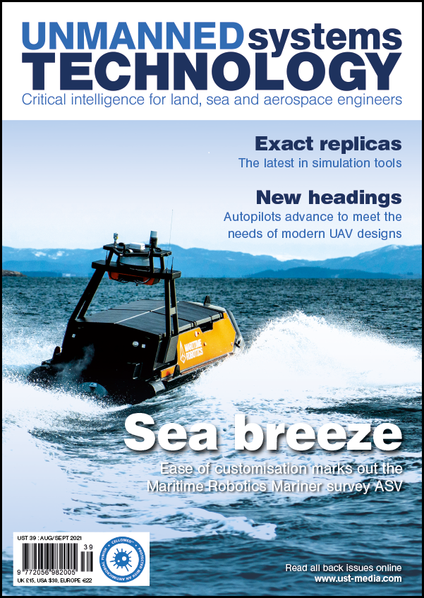 Unmanned Systems Technology Issue 39